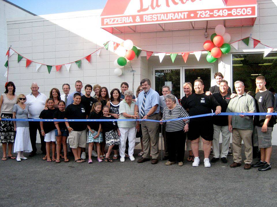 La Rosa Ribbon Cuttin