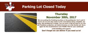 La Rosa Metuchen Parking Lot Closed Today