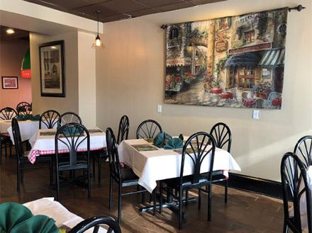 La Rosa Metuchen Dining Room
